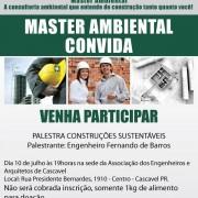 Convite - Construção Sustentável