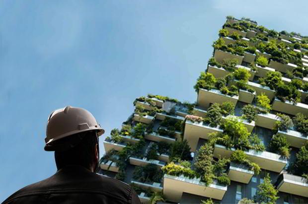 Construção sustentável x tradicional