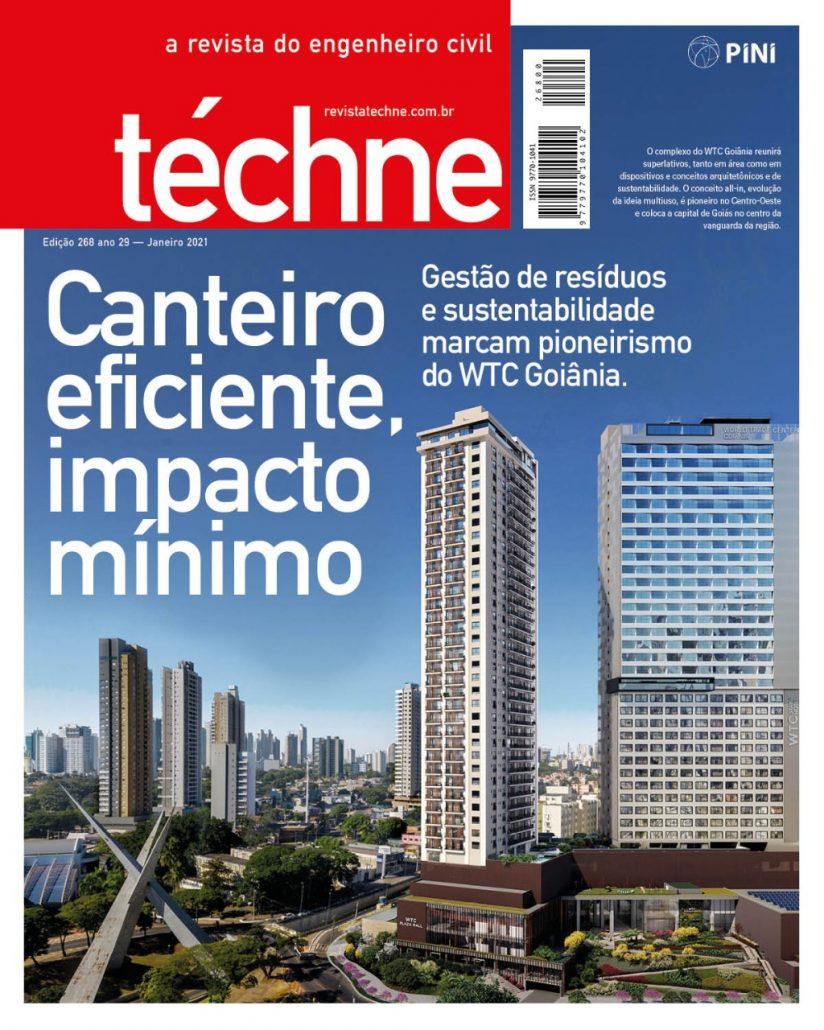 Capa da Revista téche